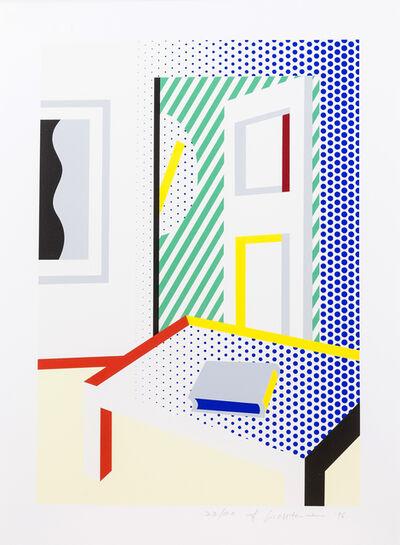 Roy Lichtenstein, 'Virtual Interior with Book', 1996
