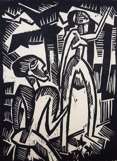 Karl Schmidt-Rottluff, 'Menschenpaar (Couple)', 1917