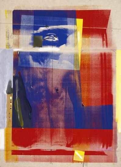 Paolo Gioli, 'Corpo che oscilla dal braccio ', 1975