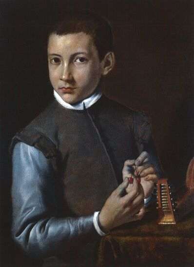 Agostino Carracci, 'Portrait of a Boy', about 1590