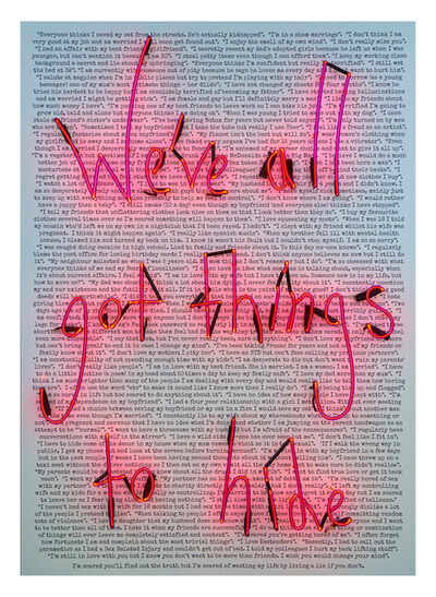 Rebecca Mason, 'We've All Got Things To Hide (Confessions)', 2016