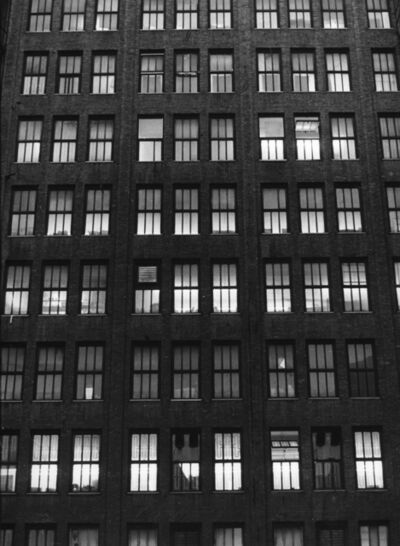 Rudy Burckhardt, 'Factory Building I (Factory Windows)', 1979