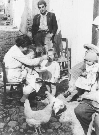 Mario Carbone, 'Il pane. Matera, (Grassano)', 1960