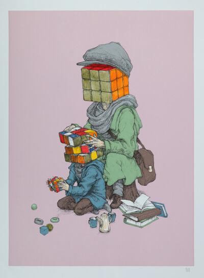 Rustam QBic, 'Mind Games (Pink)', 2015