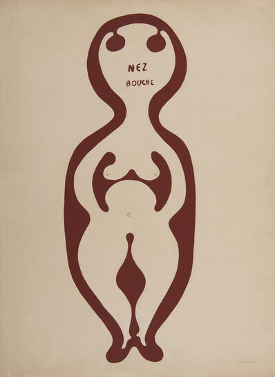 Victor Brauner, 'Nez bouché', 1937
