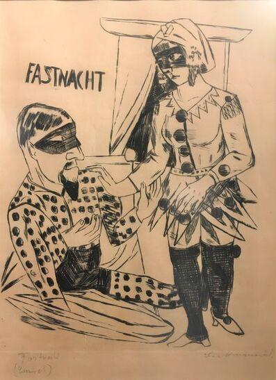 Max Beckmann, 'Fastnacht', 1922