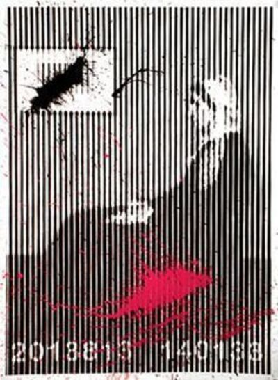 Mr. Brainwash, 'Whistlers Mother Barcode', 2008