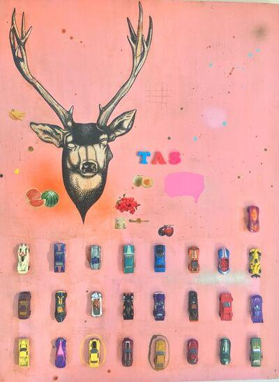 Armando Lerma, 'Pink Deer'
