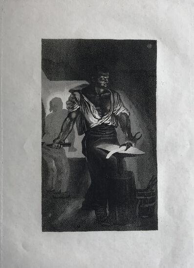 Eugène Delacroix, 'Un Forgeron/A Blacksmith', 1833
