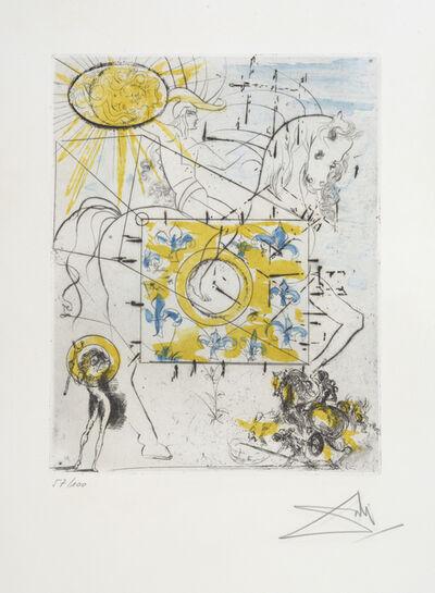 Salvador Dalí, 'Cheval Royal. Royal Charger', 1970