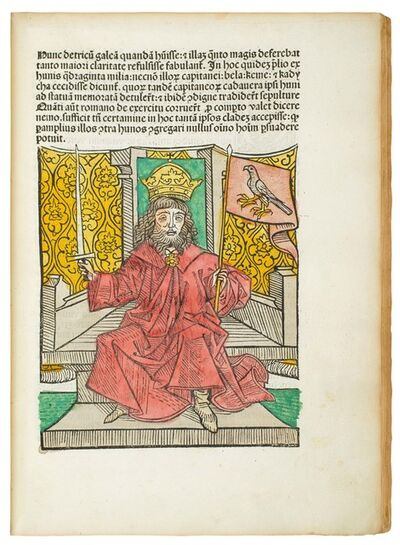 Master of the Hungarian Chronicle, 'Johannes de Thurocz: 'Chronica Hungarorum'', 1488
