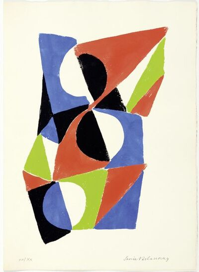 Sonia Delaunay, 'From: Rythmes-Couleur', 1966
