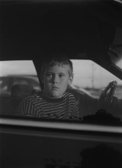 Mark Steinmetz, 'Elberton, GA (boy in car window)', 1995