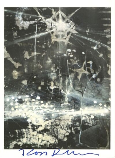 Ross Bleckner, 'The Seventh Examined Life: Offset Lithograph Invitation (Hand Signed)', 1991