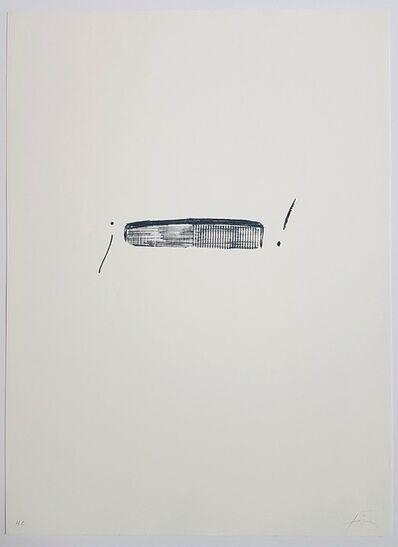 Antoni Tapies, 'Llambrec-4', 1975