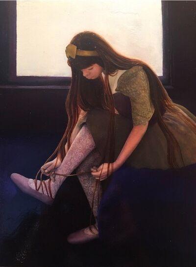 Hyemi Cho, 'Ballet shoelace', 2018