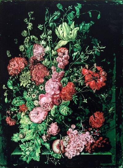 Logan Hicks, 'A Vase of Flowers II - Homage to Margareta Haverman', 2018