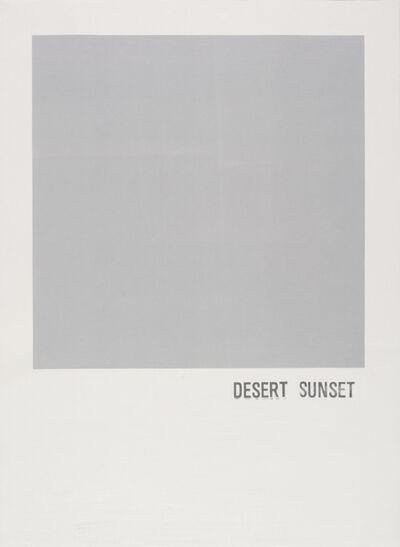 Todd Norsten, 'Desert Sunset', 2016