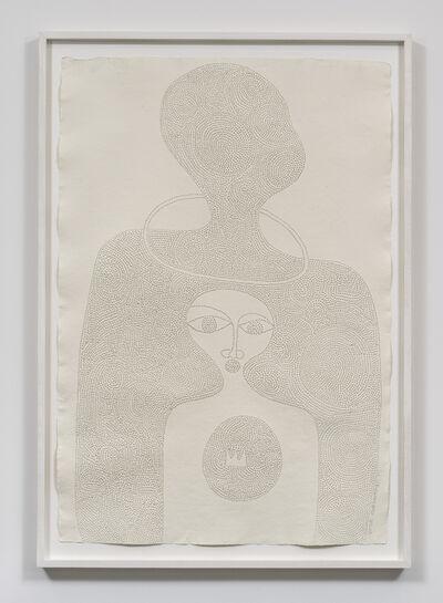 Victor Ehikhamenor, 'I am Ohen, custodian of memories', 2017