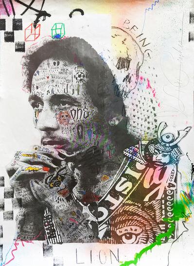 Stikki Peaches, 'Bob Marley - Lion', 2020