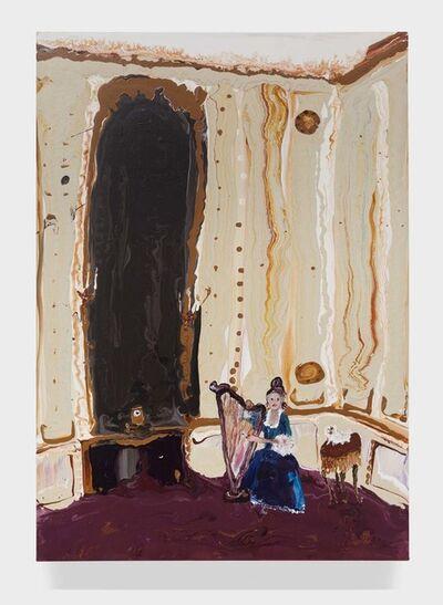 Genieve Figgis, 'Lady with a harp', 2015