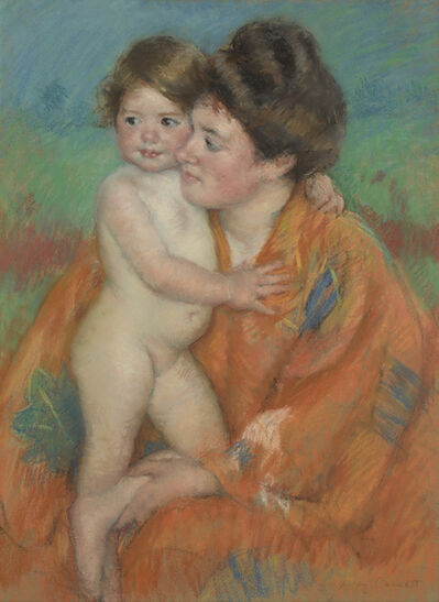 Mary Cassatt, 'Woman with Baby', ca. 1902
