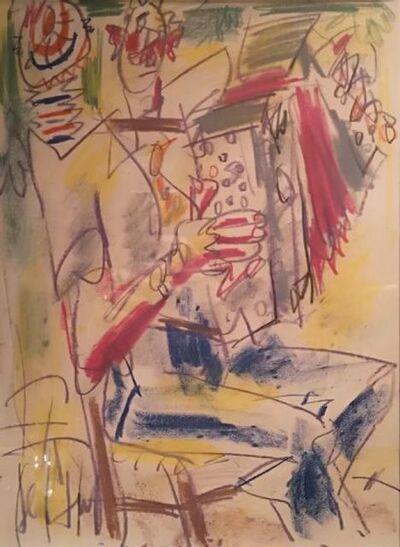 Gen Paul, 'The clown musician ', ca. 1960