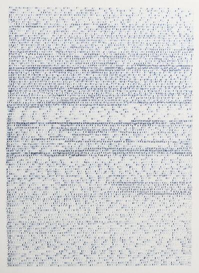 Sarah Irvin, 'X Stamp, No. 3', 2019