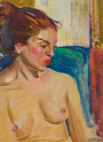 Frederick William Becker, 'Nude Study', 19th/20th Century