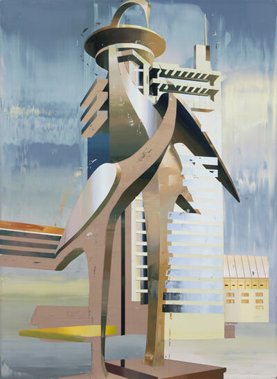 Cui Jie, 'Building of Cranes #1', 2014