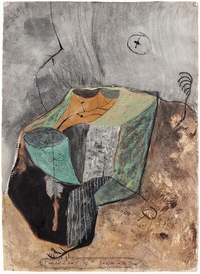Theodoros Stamos, 'Shofar in the Stone', 1946