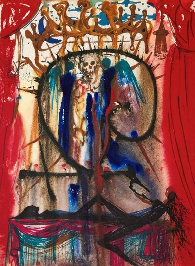 Salvador Dalí, 'Romeo and Juliet - Act V, Scene III (The Marriage of Romeo & Juliet by Death)', 1967-1975