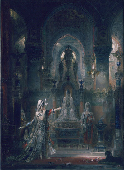 Gustave Moreau, 'Salome Dancing Before Herod', 1876