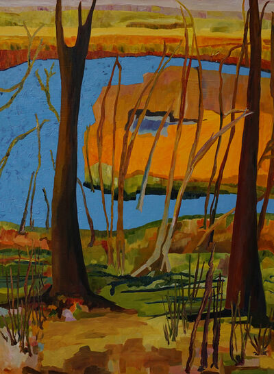 Yvonne Troxell Lamothe, 'Black's Creek, Autumn', 2020