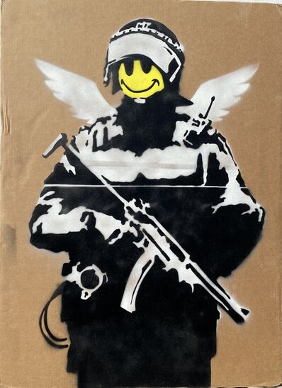 Banksy, 'Smiling Copper aka Happy Copper', 2003