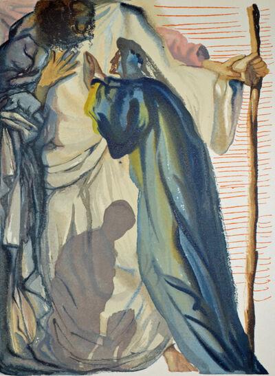 Salvador Dalí, 'A Spirit Questions Dante, Purgatorio 14,The Divine Comedy', 1960