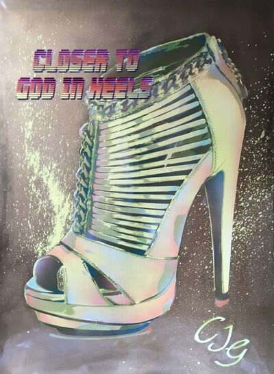 Max Wiedemann, 'Closer to God in Heels (CJG)', 2012