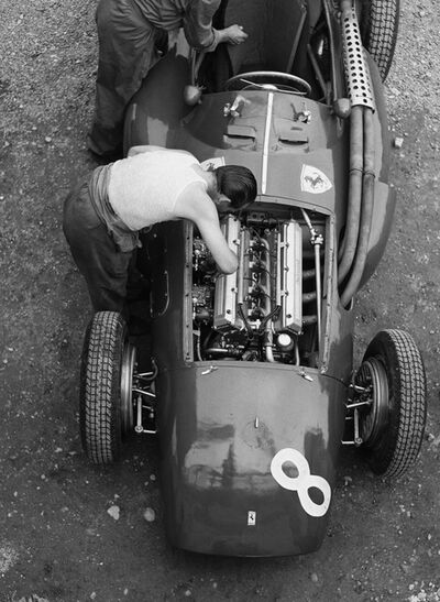 Jesse Alexander, 'Ferrari Mechanic, Reims', 1954