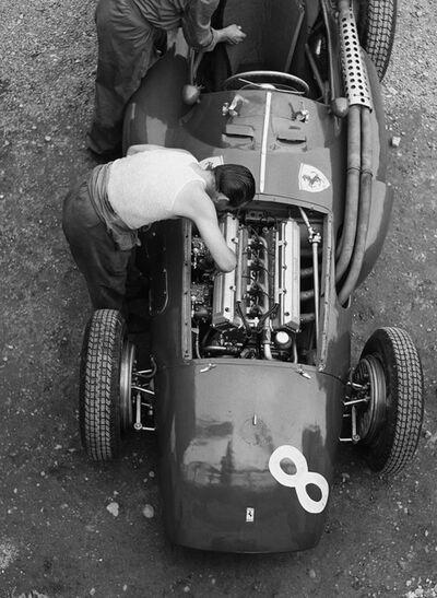Jesse Alexander, 'Ferrari Mechanic, Reims', 1954