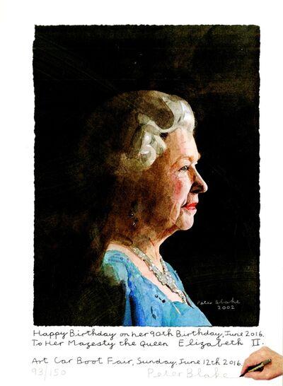 Peter Blake, 'To Her Majesty, Queen Elizabeth II', 2016