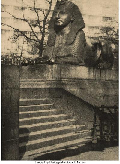 Alvin Langdon Coburn, 'On the Embankment; The Rudder', 1906; 1908