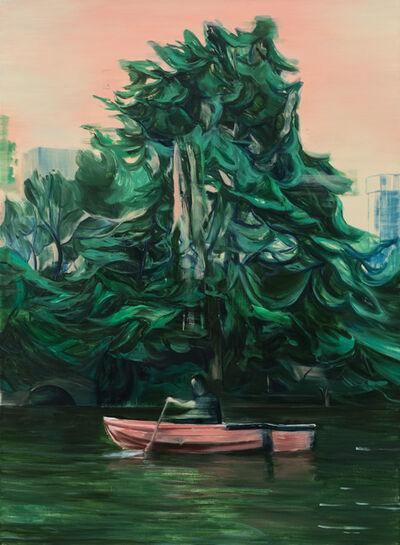 Lei Qi, 'A dark green afternoon', 2019
