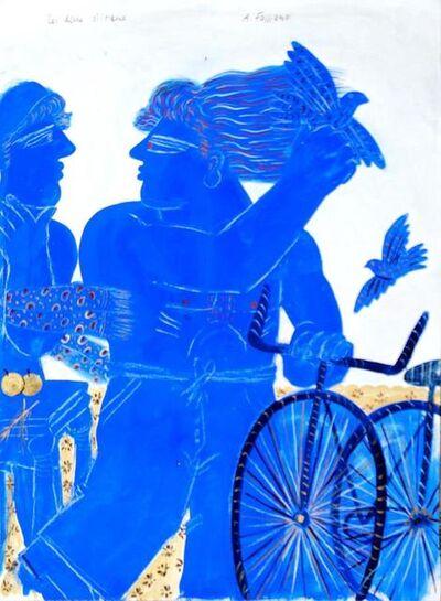 Alekos Fassianos, 'Les deux oiseaux', 2003