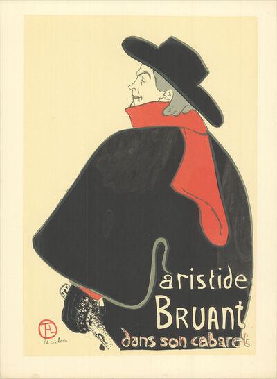 Henri de Toulouse-Lautrec, 'Aristide Bruant dans son cabaret', 1960-1970