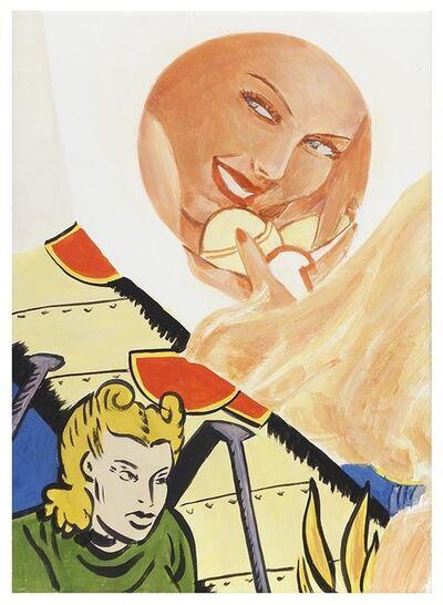 George Schneeman, 'Mirror/Image', 2001