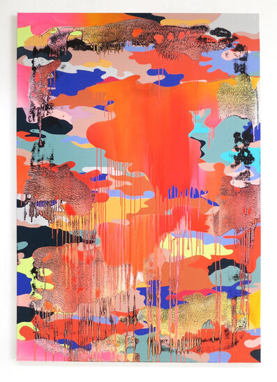 Christine Streuli, 'Big_Warpainting_02', 2016