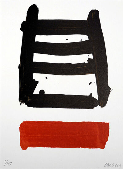 Pierre Soulages, 'lithographie N°40', 1978
