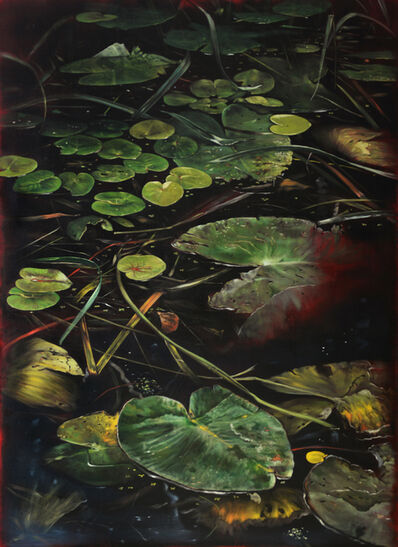 Helena Parada-Kim, 'Pond lilies (center panel)', 2018
