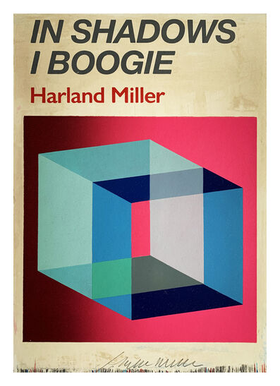 Harland Miller, 'In Shadows I Boogie, Pink', 2019