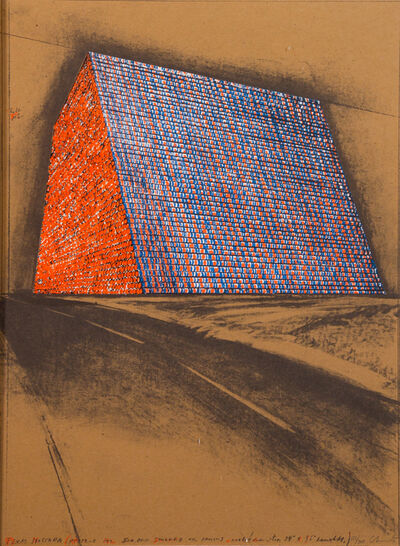 Christo and Jeanne-Claude, 'Texas Mastaba', 1976